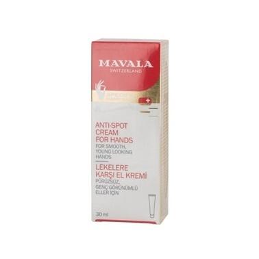 Mavala  Anti Spot Cream For Hands 30ml Renksiz